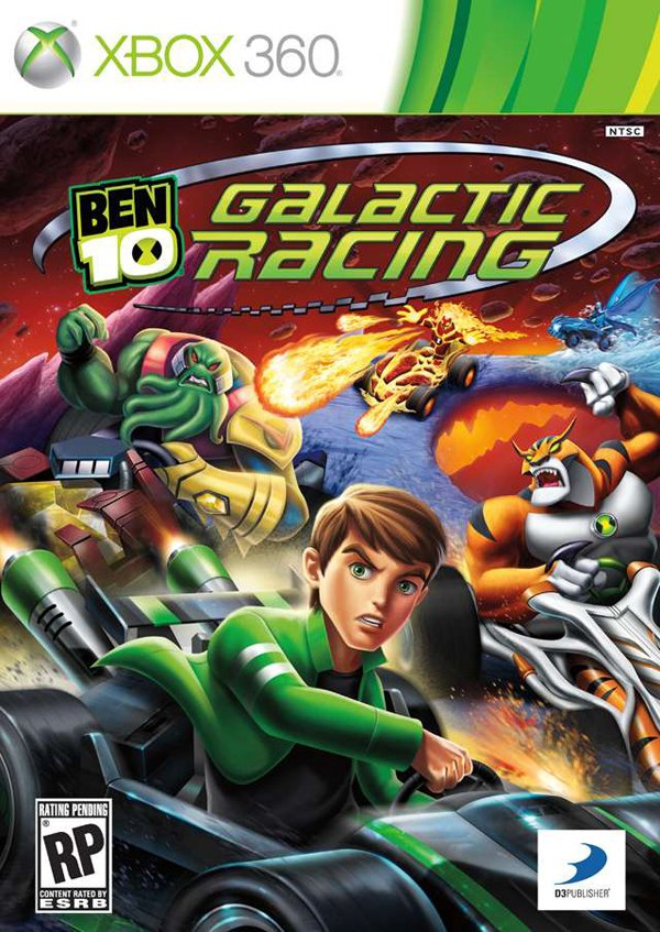 Ben 10: Galactic Racing Video Game Back Title by WonderClub