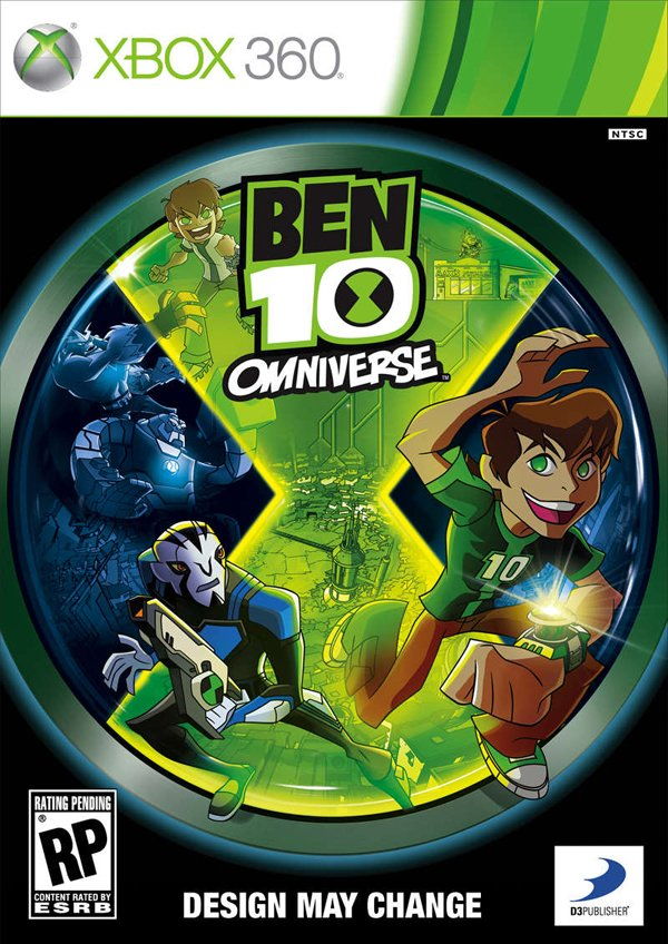 Ben 10: Omniverse  Video Game Back Title by WonderClub