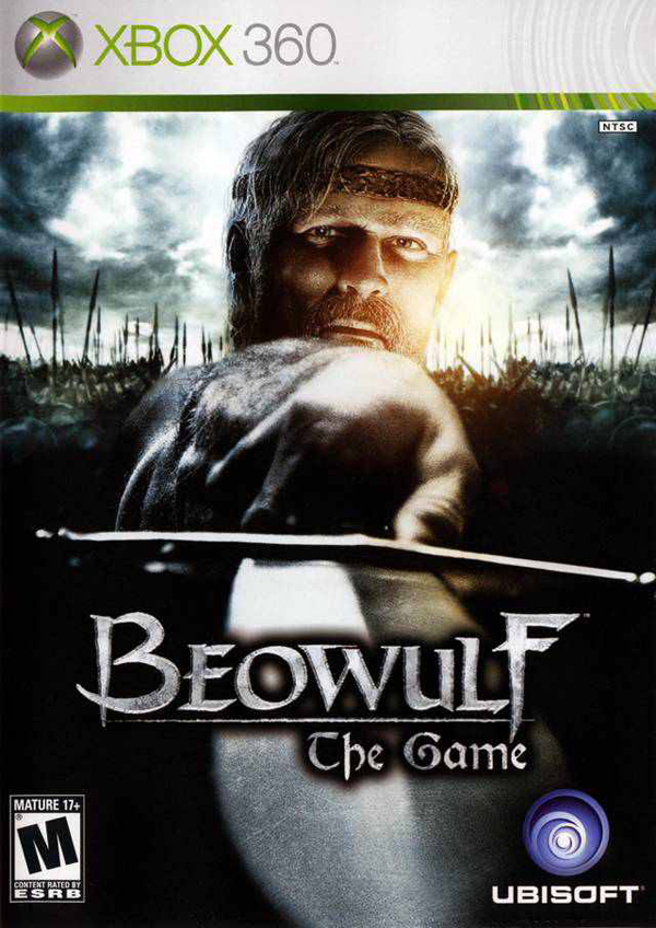 Beowulf: The Game Video Game Back Title by WonderClub
