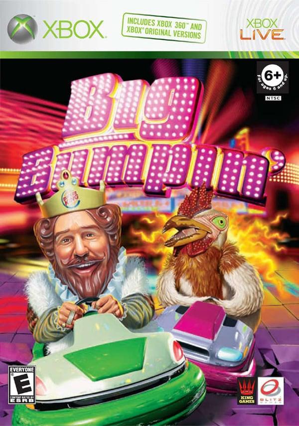 Big Bumpin' Video Game Back Title by WonderClub