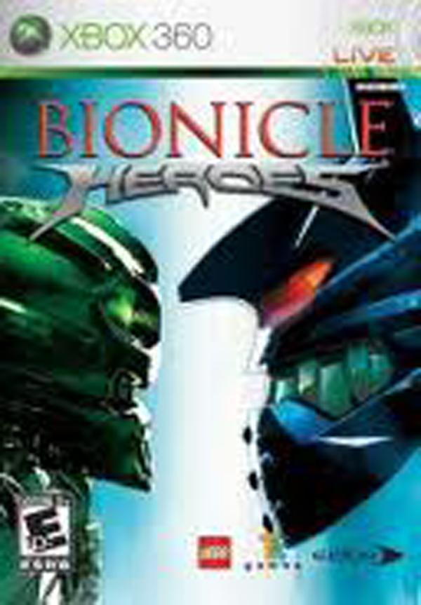 Bionicle Heroes Video Game Back Title by WonderClub