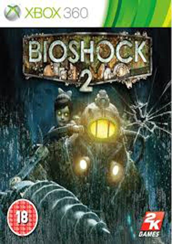 BioShock 2 Video Game Back Title by WonderClub