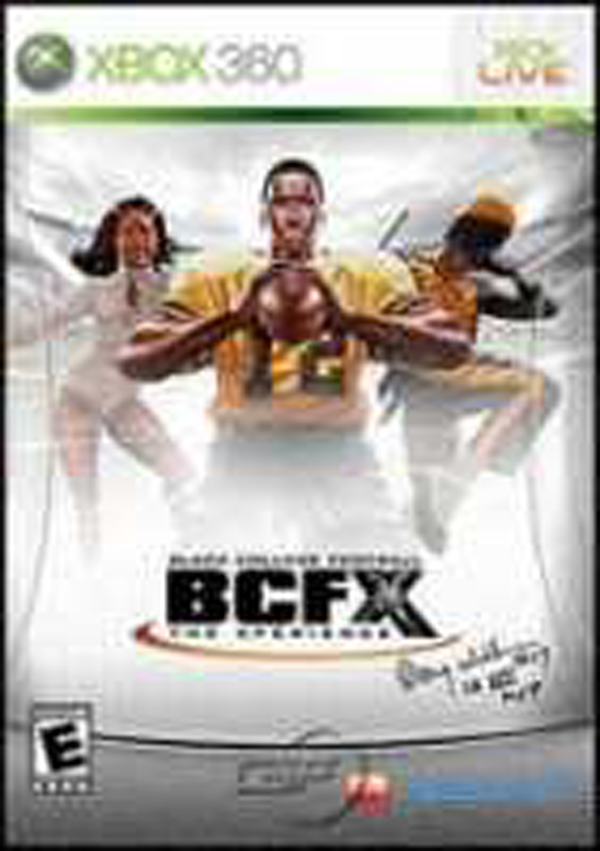 Black College Football: BCFX: The Xperience Video Game Back Title by WonderClub