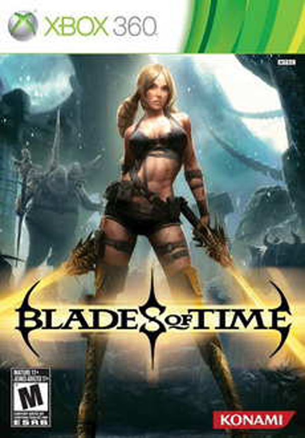 Blades Of Time Video Game Back Title by WonderClub