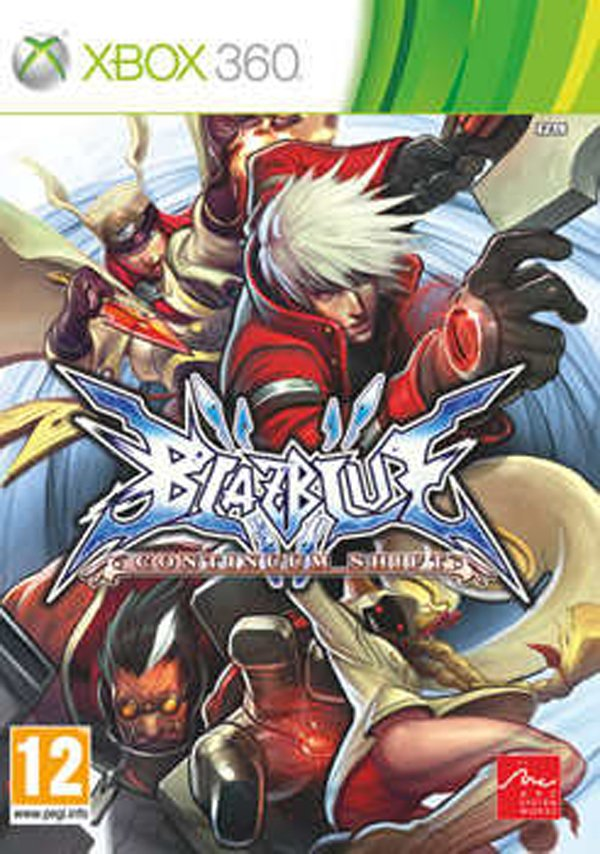 BlazBlue: Calamity Trigger Video Game Back Title by WonderClub