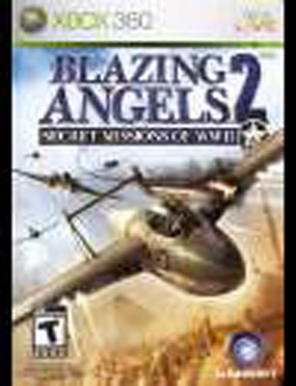 Blazing Angels 2: Secret Missions Of WWII Video Game Back Title by WonderClub