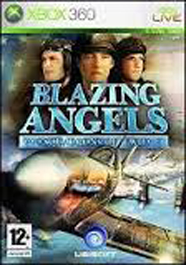 Blazing Angels: Squadrons Of WWII Video Game Back Title by WonderClub