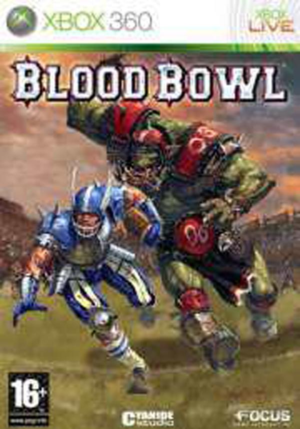 Blood Bowl Video Game Back Title by WonderClub