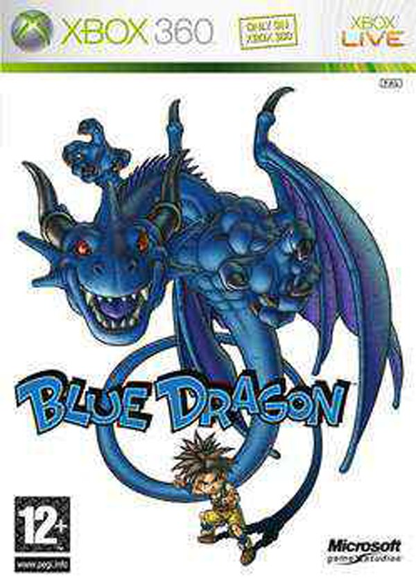 Blue Dragon Video Game Back Title by WonderClub