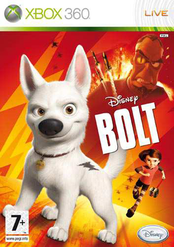 Bolt  Video Game Back Title by WonderClub