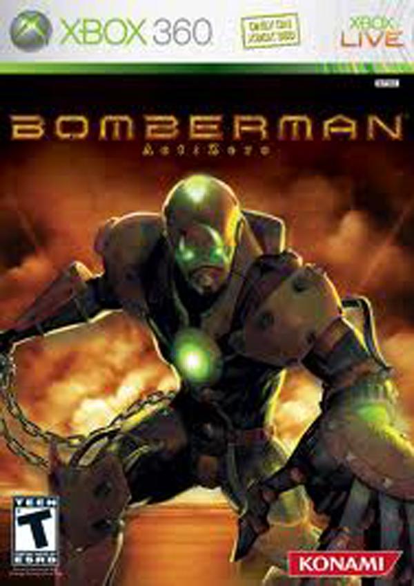 Bomberman: Act Zero Video Game Back Title by WonderClub