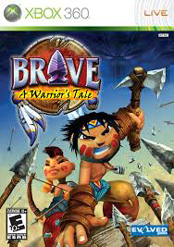 Brave: A Warrior's Tale Video Game Back Title by WonderClub
