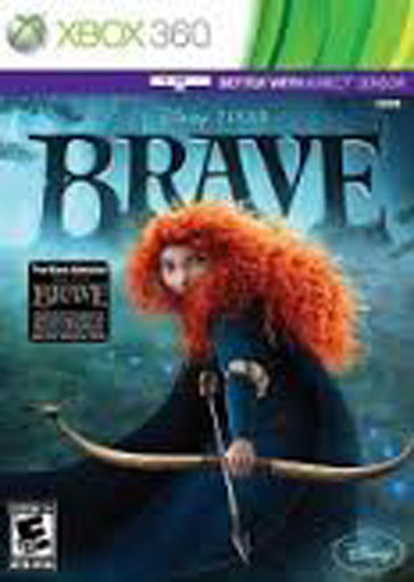 Brave Video Game Back Title by WonderClub
