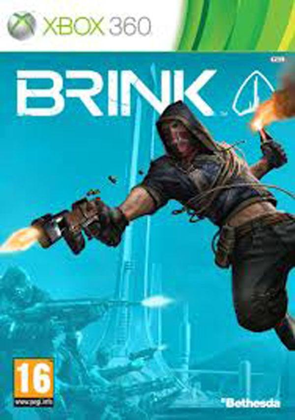 Brink Video Game Back Title by WonderClub