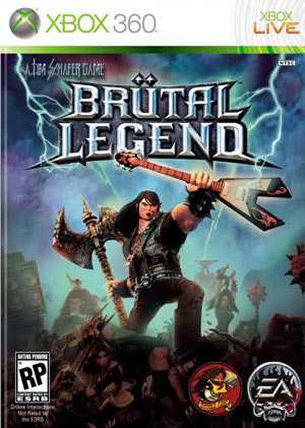 Brütal Legend Video Game Back Title by WonderClub