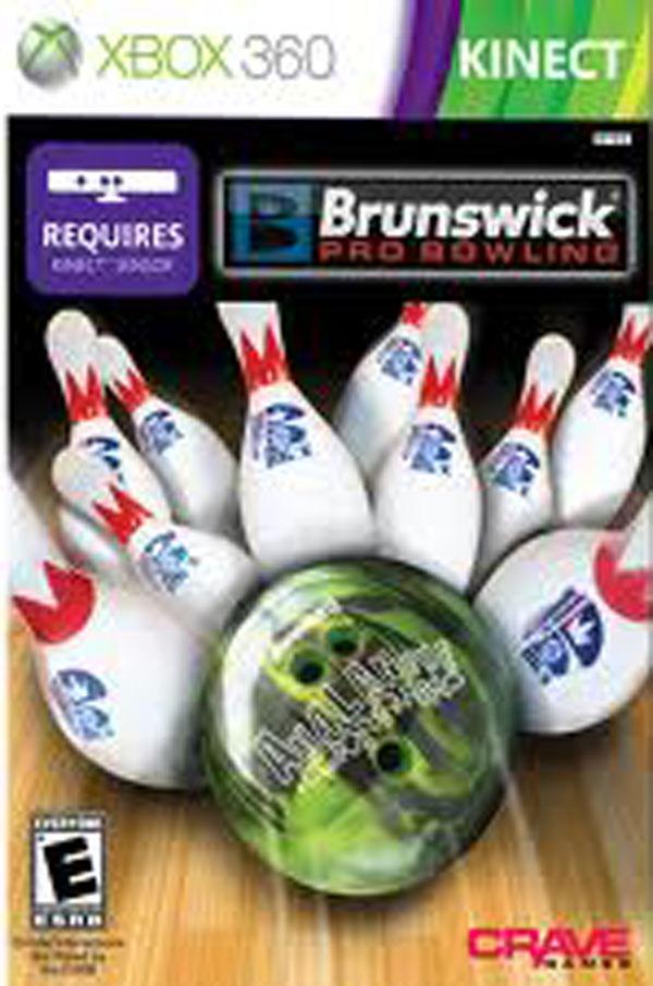 Brunswick Pro Bowling Video Game Back Title by WonderClub
