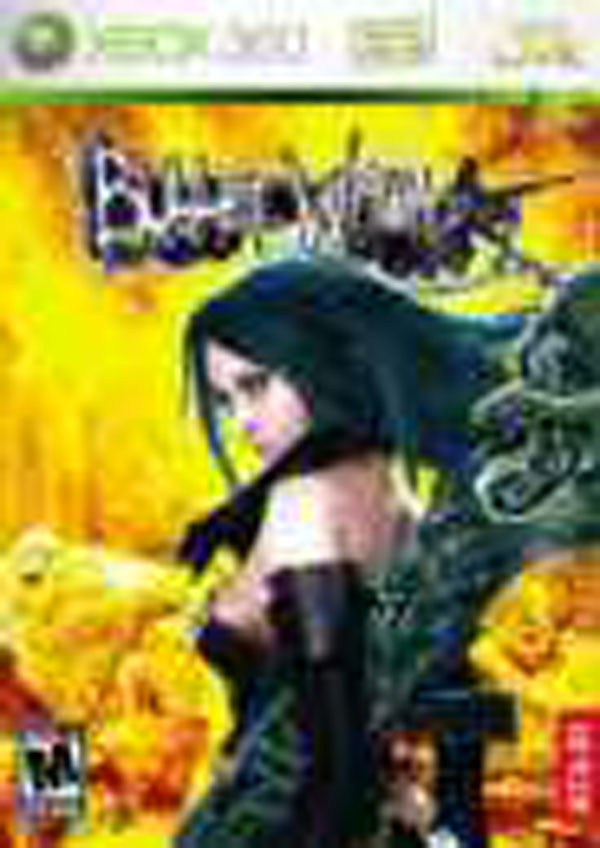 Bullet Witch Video Game Back Title by WonderClub