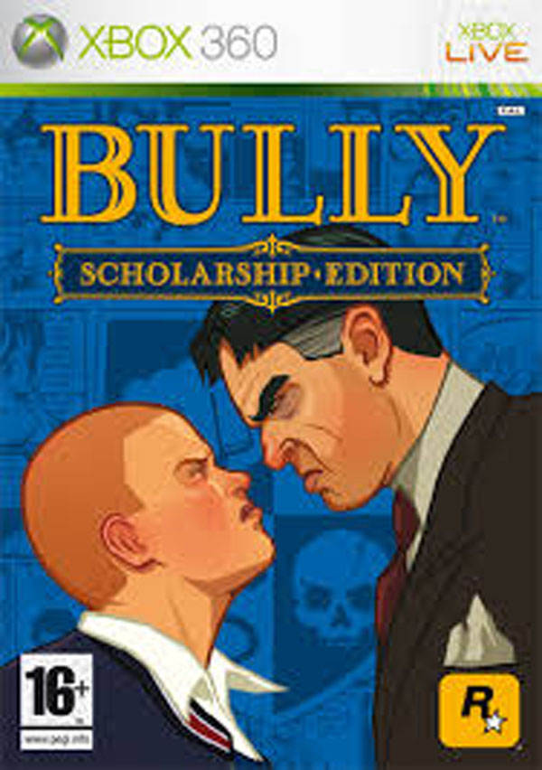 Bully Video Game Back Title by WonderClub