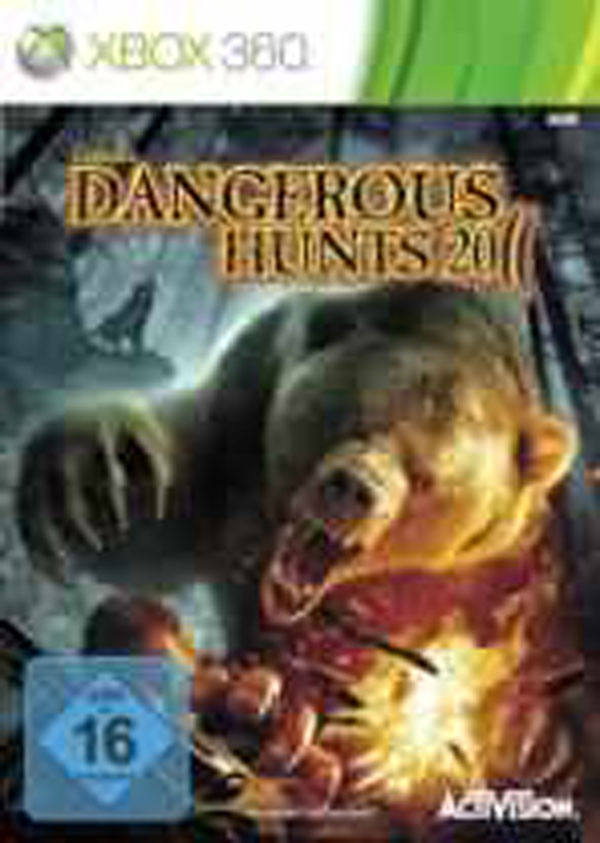 Cabela's Dangerous Hunts 2011 Video Game Back Title by WonderClub