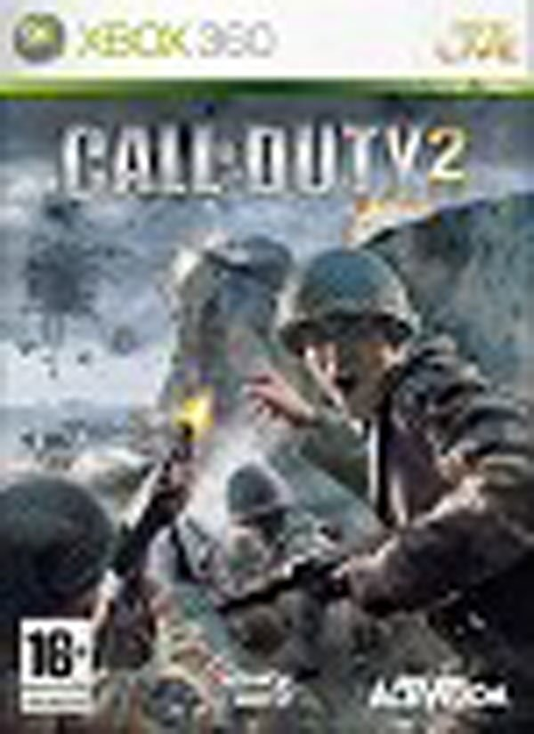 Call Of Duty 2 Video Game Back Title by WonderClub