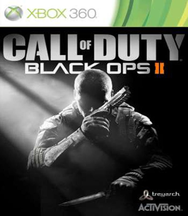 Call Of Duty: Black Ops II Video Game Back Title by WonderClub