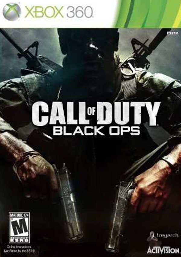 Call Of Duty: Black Ops Video Game Back Title by WonderClub