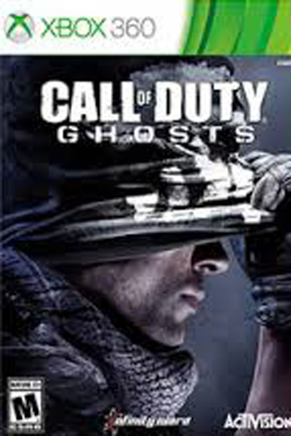Call Of Duty: Ghosts Video Game Back Title by WonderClub