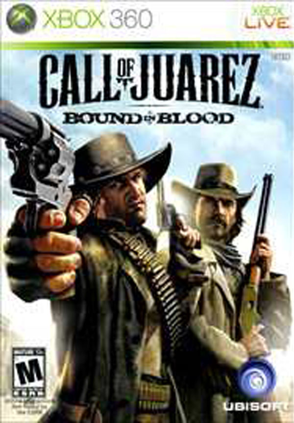 Call Of Juarez: Bound In Blood Video Game Back Title by WonderClub