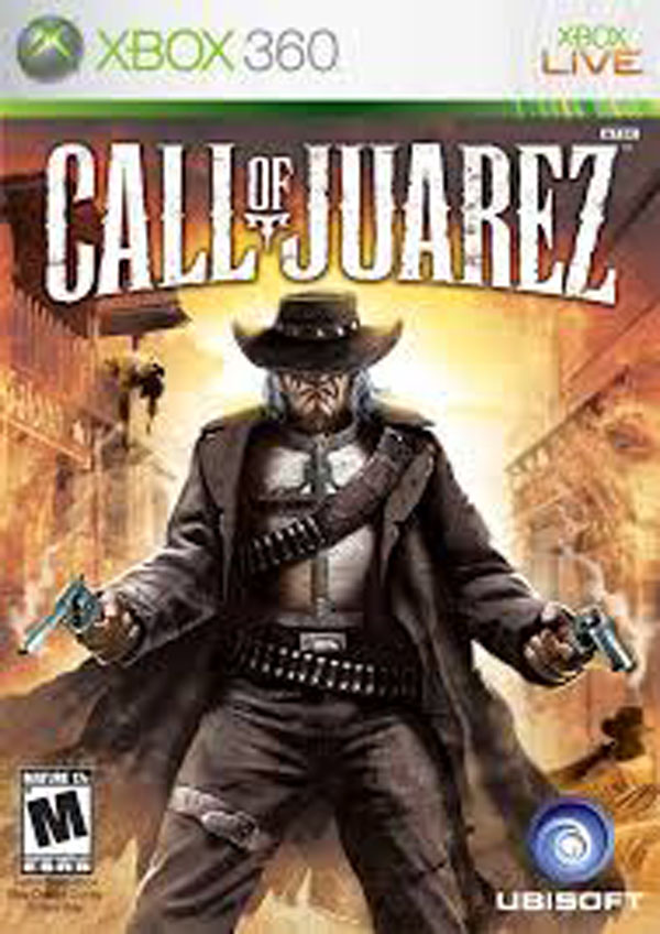 Call Of Juarez Video Game Back Title by WonderClub