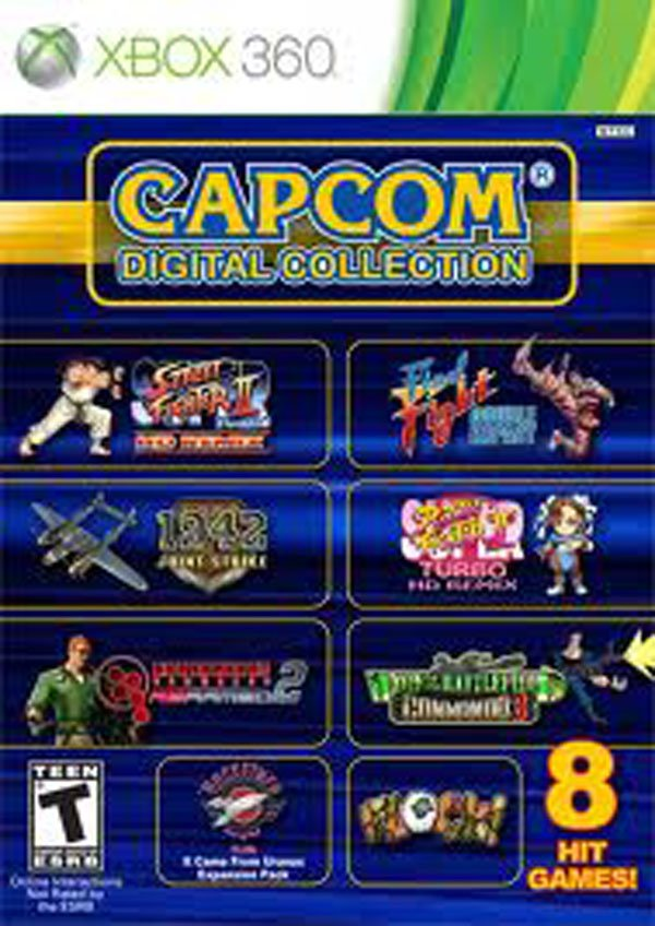 Capcom Digital Collection Video Game Back Title by WonderClub