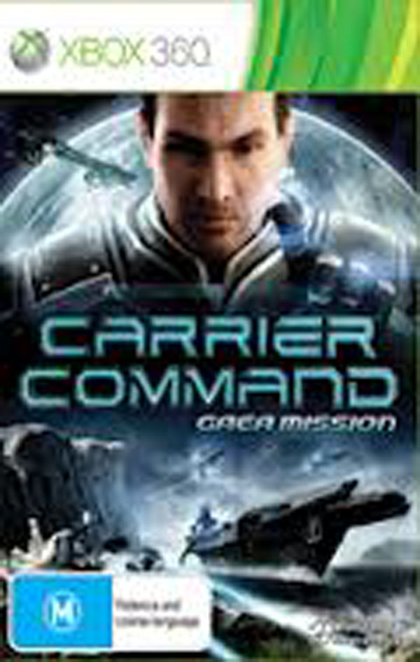 Carrier Command: Gaea Mission Video Game Back Title by WonderClub