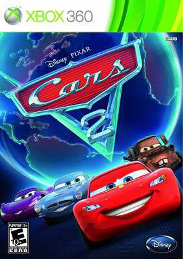 Cars 2 Video Game Back Title by WonderClub