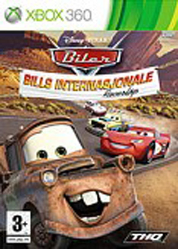 Cars Mater-National Championship Video Game Back Title by WonderClub
