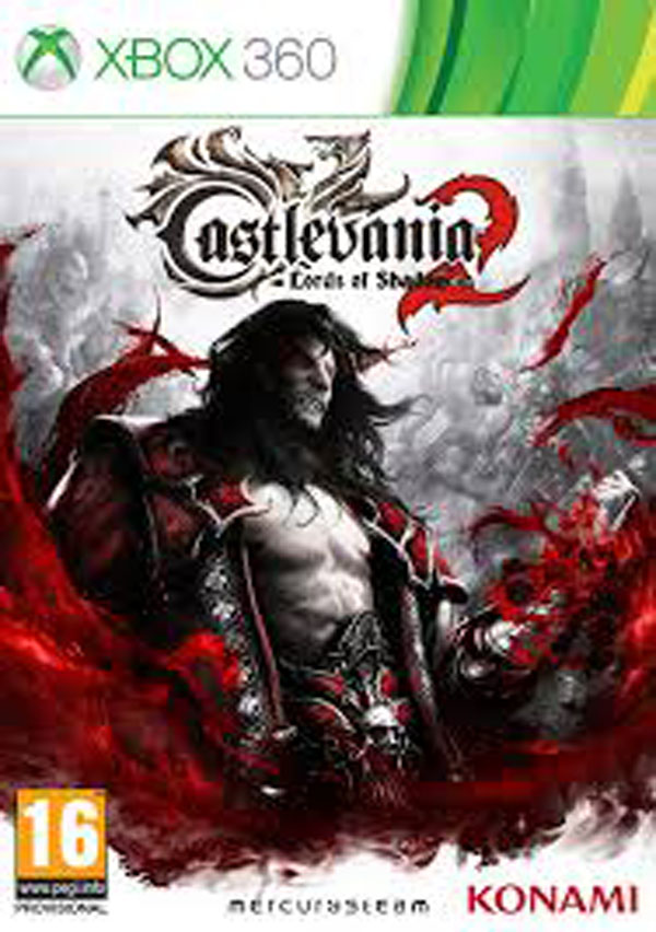 Castlevania: Lords Of Shadow 2 Video Game Back Title by WonderClub