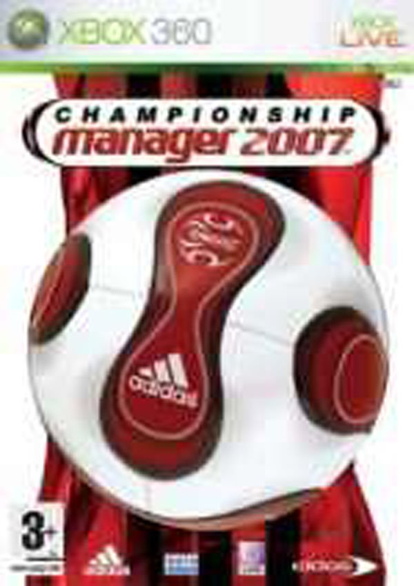 Championship Manager 2007 Video Game Back Title by WonderClub