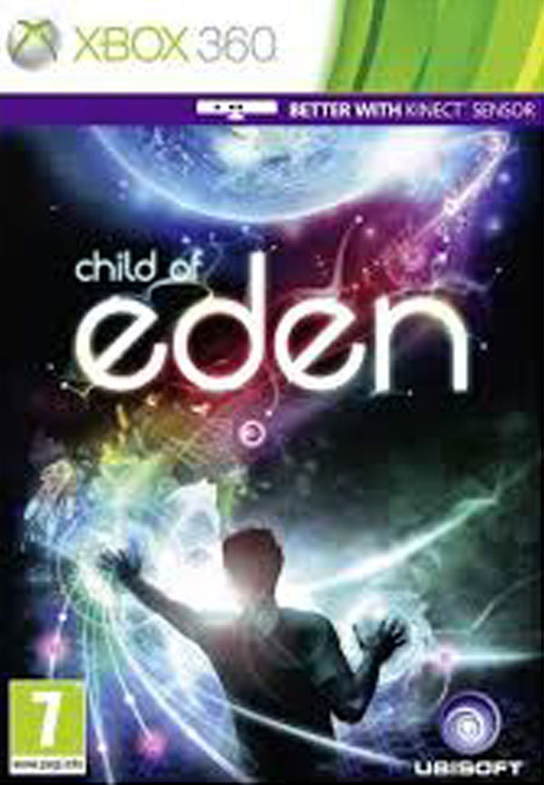 Child Of Eden Video Game Back Title by WonderClub