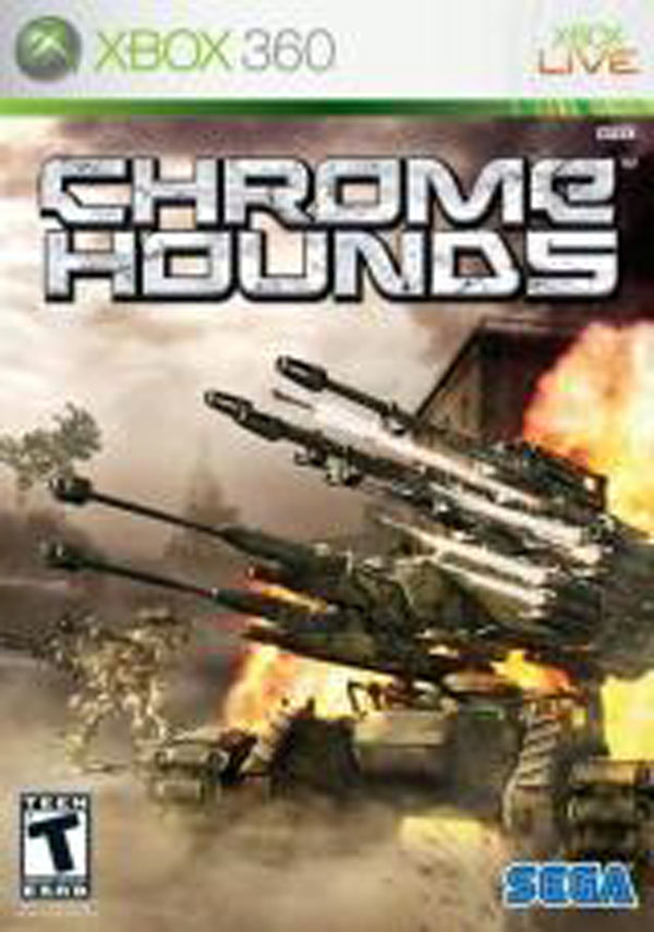 Chromehounds Video Game Back Title by WonderClub