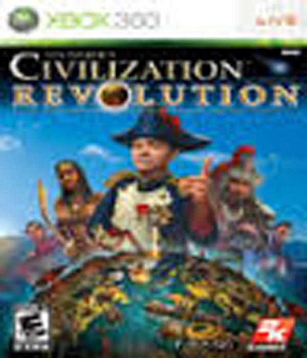 Civilization Revolution Video Game Back Title by WonderClub