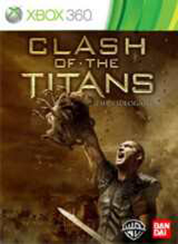 Clash Of The Titans  Video Game Back Title by WonderClub