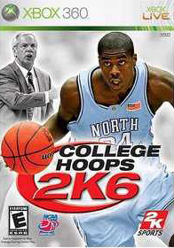 College Hoops 2K6 Video Game Back Title by WonderClub