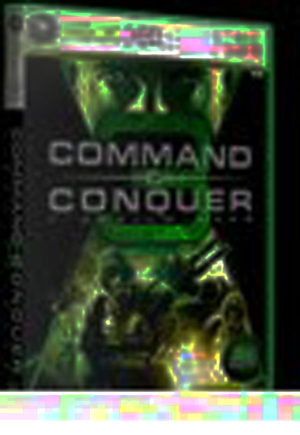 Command & Conquer 3: Tiberium Wars Video Game Back Title by WonderClub