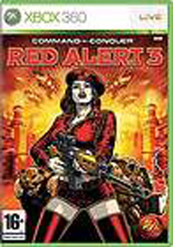 Command & Conquer: Red Alert 3 Video Game Back Title by WonderClub