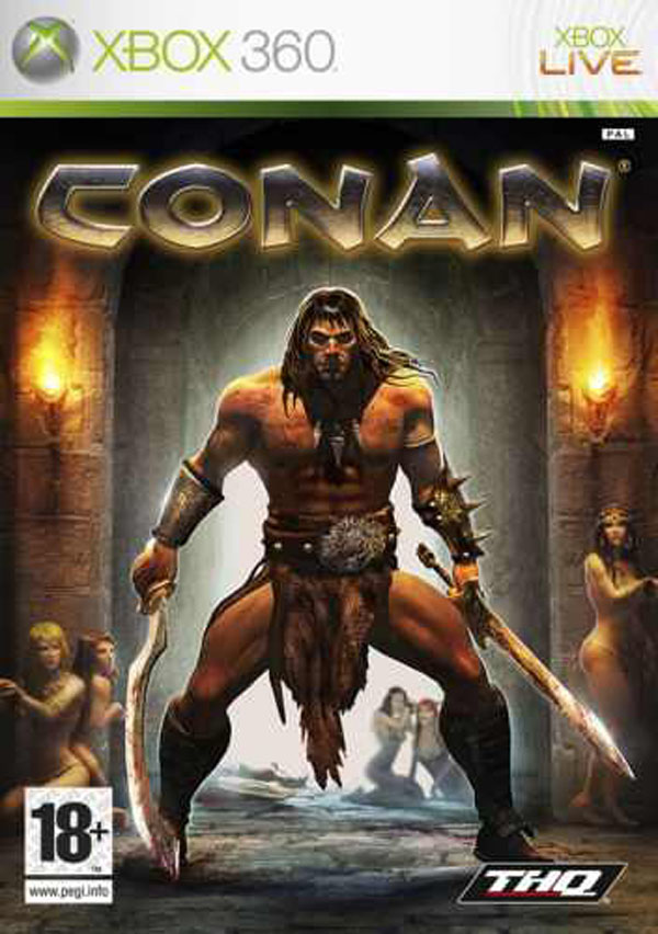 Conan  Video Game Back Title by WonderClub