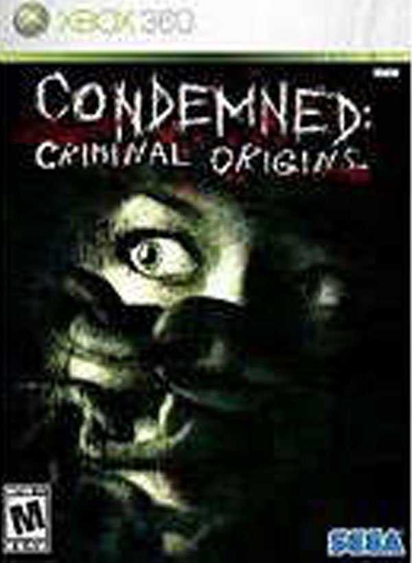 Condemned: Criminal Origins Video Game Back Title by WonderClub