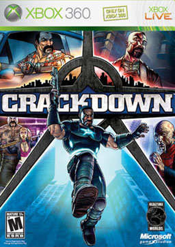 Crackdown Video Game Back Title by WonderClub