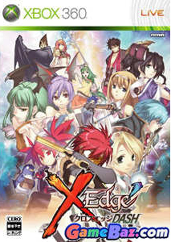 Cross Edge Video Game Back Title by WonderClub