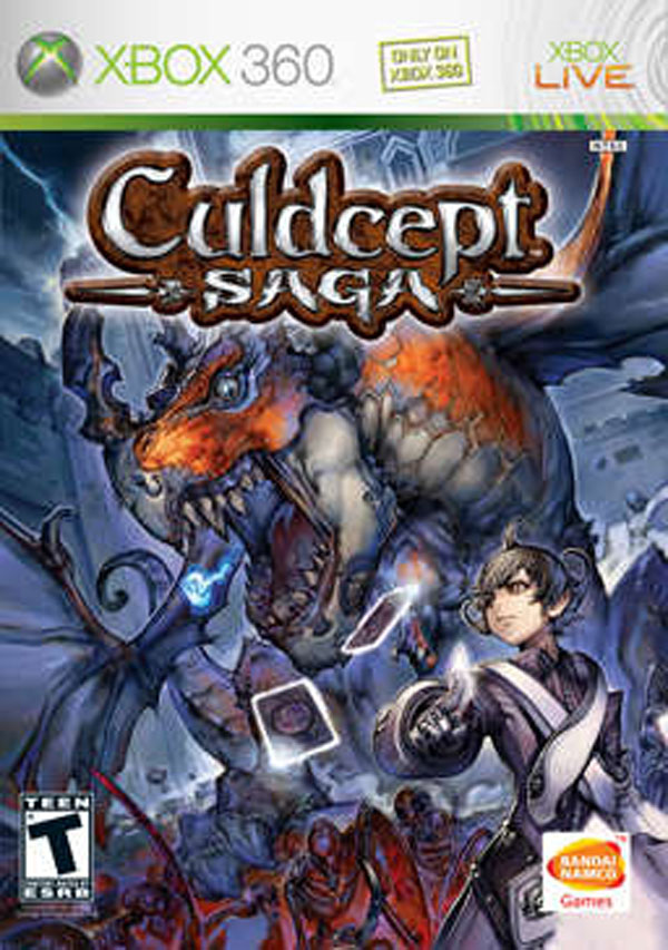 Culdcept Saga Video Game Back Title by WonderClub