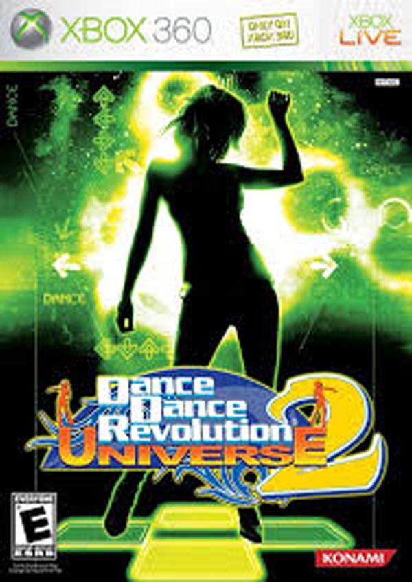 Dance Dance Revolution Universe 2 Video Game Back Title by WonderClub