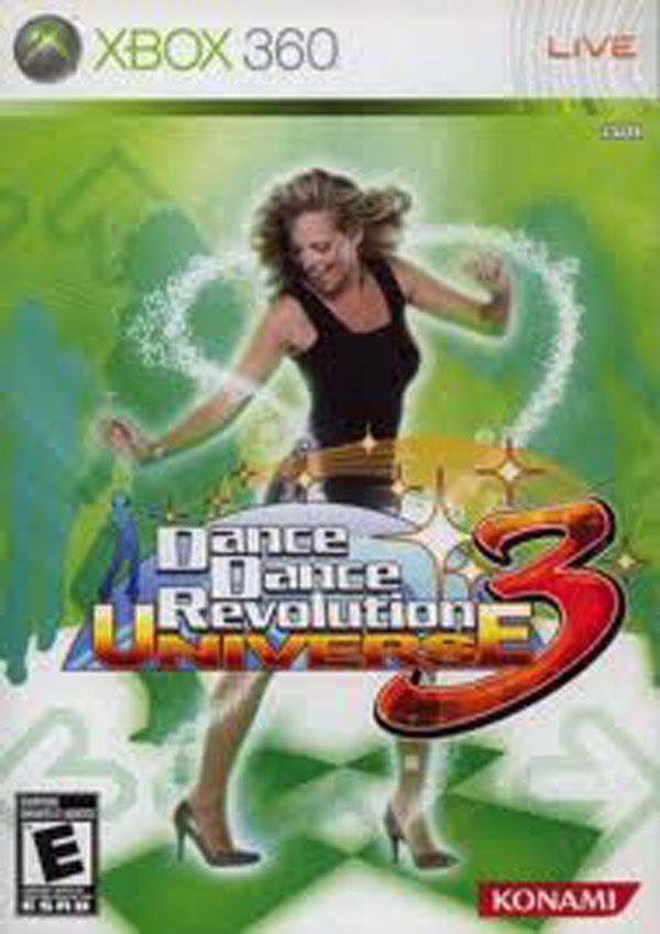Dance Dance Revolution Universe 3 Video Game Back Title by WonderClub
