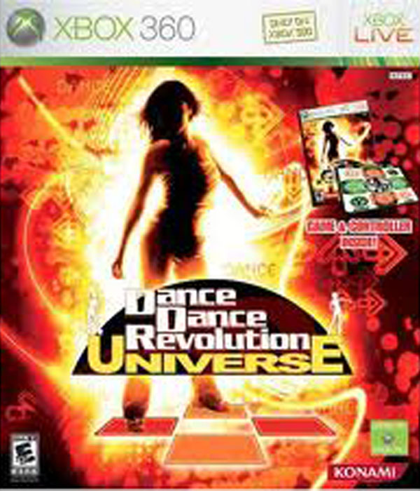 Dance Dance Revolution Universe Video Game Back Title by WonderClub